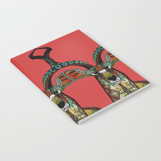 antelope red Notebook