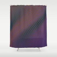 Fancy Curves II Shower Curtain