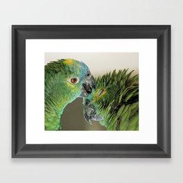 Forever in love Framed Art Print