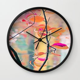 New Autumn Colours  Wall Clock