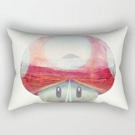 Mushroom - Kart Art Rectangular Pillow