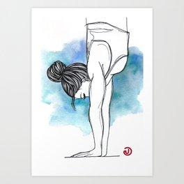 Handstand Art Print