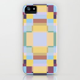 Retro Taniwha iPhone Case