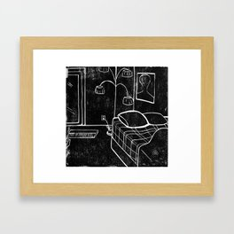 Sunny Vancouver (Subtractive Cut) Framed Art Print