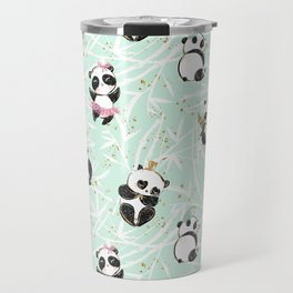 Panda Pattern 04 Travel Mug