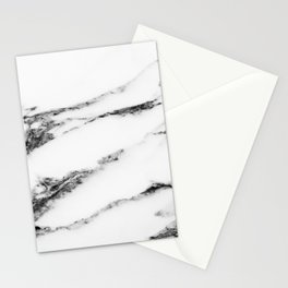 Marble (White) Stationery Cards