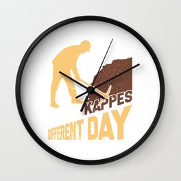 Same Nonsense Every Day Gift Ruhr Wall Clock