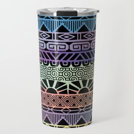 Aztec Cobalt Travel Mug