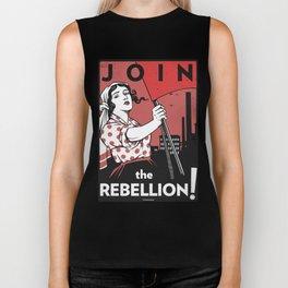 Join The Rebellion! Biker Tank