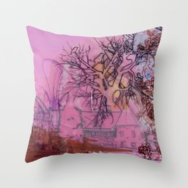 Everette Mansion Throw Pillow