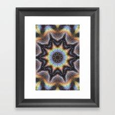 Tandava Framed Art Print
