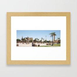 Temple of Luxor, no. 23 Framed Art Print
