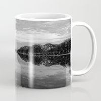 washington dc Mugs featuring Reflecting Pool- Washington DC by mariavilla