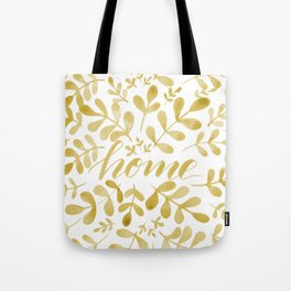 Watercolor home foliage – yellow Tote Bag