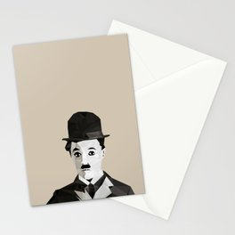Chaplin Scomposition Stationery Cards