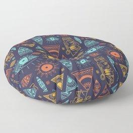 Mayan Pattern Floor Pillow