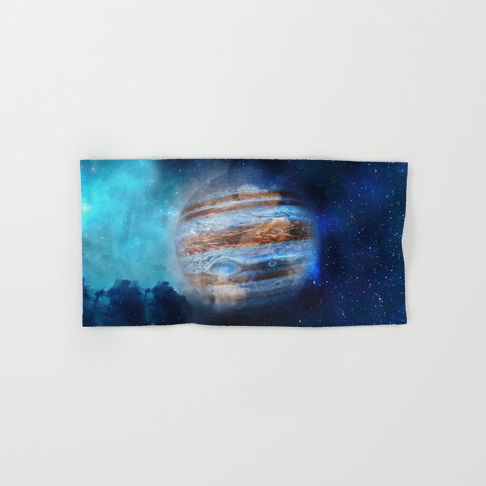 Hello Jupiter! Hand & Bath Towel