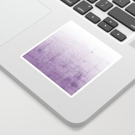 Radiant Orchid Purple Ombre  Sticker