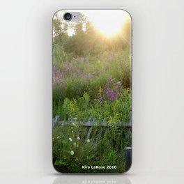 August coming undone iPhone Skin