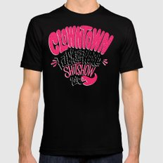 Clowntown Fuck the World Shitshow 2016 Mens Fitted Tee X-LARGE Black