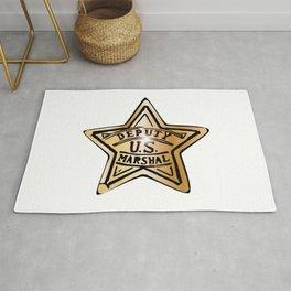 Deputy US Marshal Star Rug