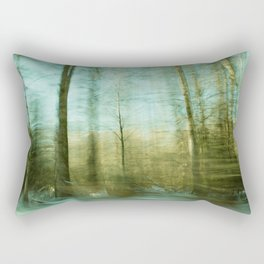 Moved By Trees ii Rectangular Pillow