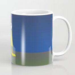 Fred The Alien sky Coffee Mug