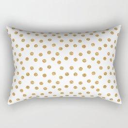 Scatter Glitter Dots Rectangular Pillow