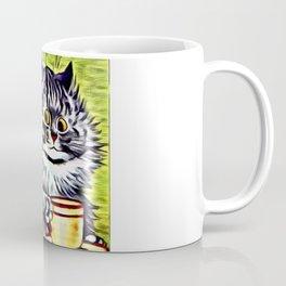 "Louis Wain's Cats ""Kitty On Coffee Break"" Coffee Mug"