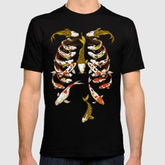 Out of  The Bone Black Mens Fitted Tee LARGE