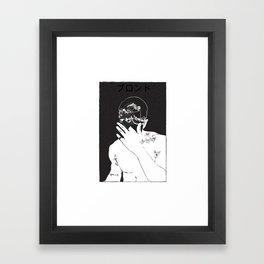 frank ocean's blond\blonde Framed Art Print