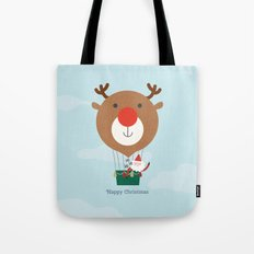Day 13/25 Advent - Air Rudolph Tote Bag