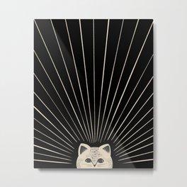 Good Morning son - Kitty 2 Metal Print