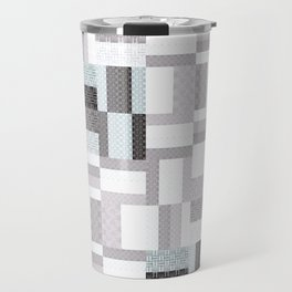 Modern Geometric Travel Mug