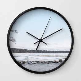 Headwaters in November Wall Clock