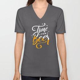 Beer Drinker Gift Alcohol Drinking Unisex V-Neck