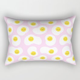 Cute Fried Eggs Pattern Rectangular Pillow