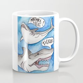 Shark Tickles Coffee Mug
