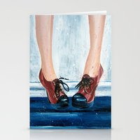 heels Stationery Cards featuring Heels by MardyArts