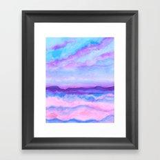 A 0 25 Framed Art Print