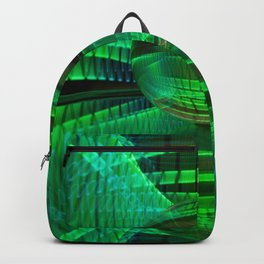 Abstract Glass Ball Backpack