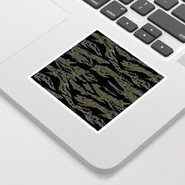 Tiger Camo Sticker
