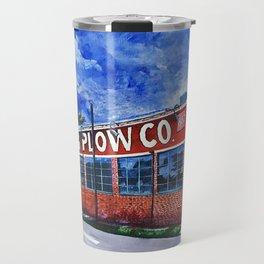 King Plow Co. Travel Mug