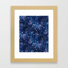 Zodiac - Watercolor Framed Art Print