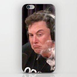 Elon Musk Smoking Weed iPhone Skin