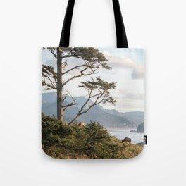 Clifftop Grazing Tote Bag