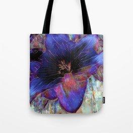 Floral Color Burst Tote Bag
