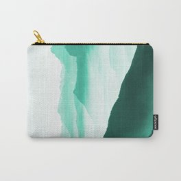 Creamy Mountains Carry-All Pouch
