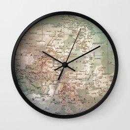 atlas - indo Wall Clock