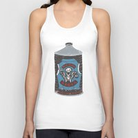 die hard Tank Tops featuring Die Hard Lager by Moto